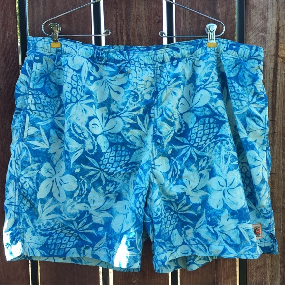 acba77d642 Tommy Bahama Swim | Mens Trunks Pockets Hawaiian Xl | Poshmark